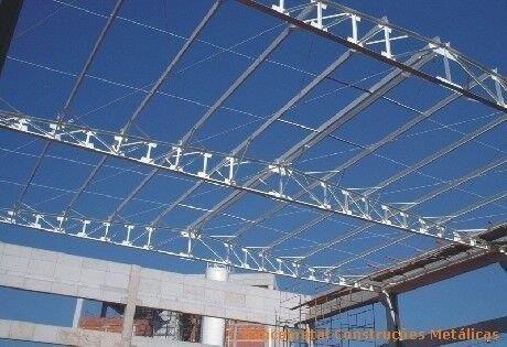Estrutura de ferro para galpão preço