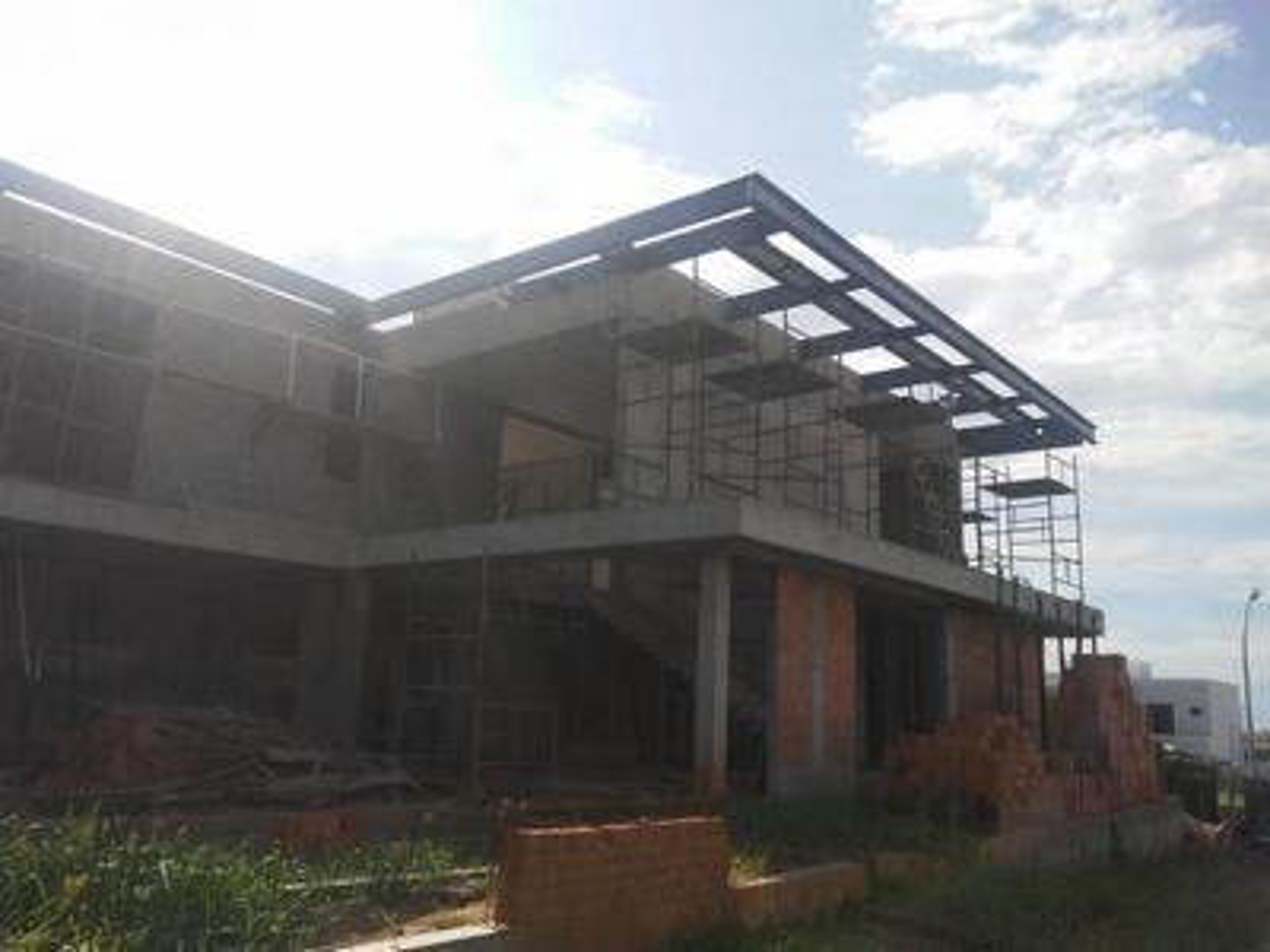 Estrutura metalica residencial