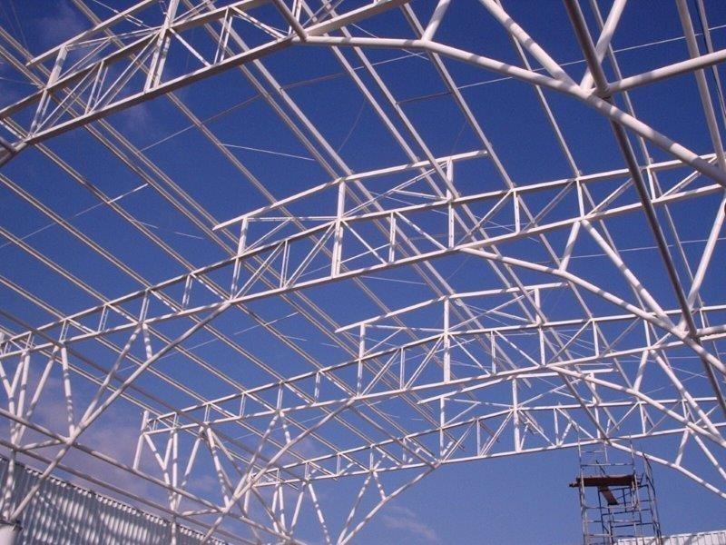 Galpão estrutura de ferro