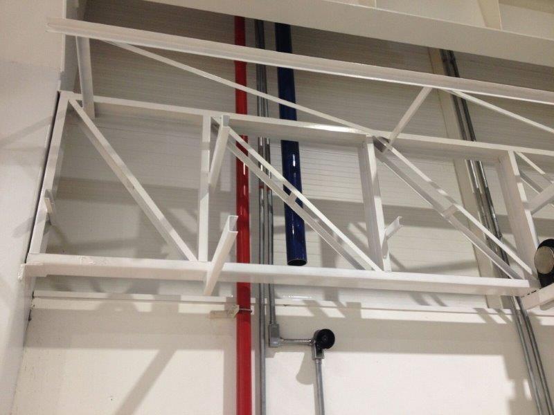 Pipe rack metálico
