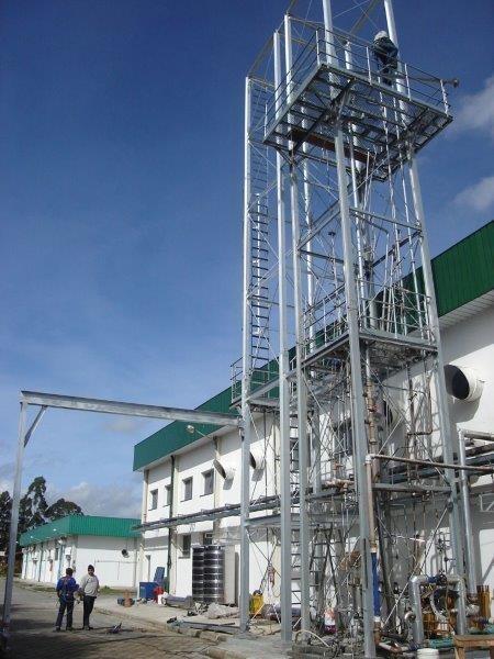 Plataforma estruturas metálicas