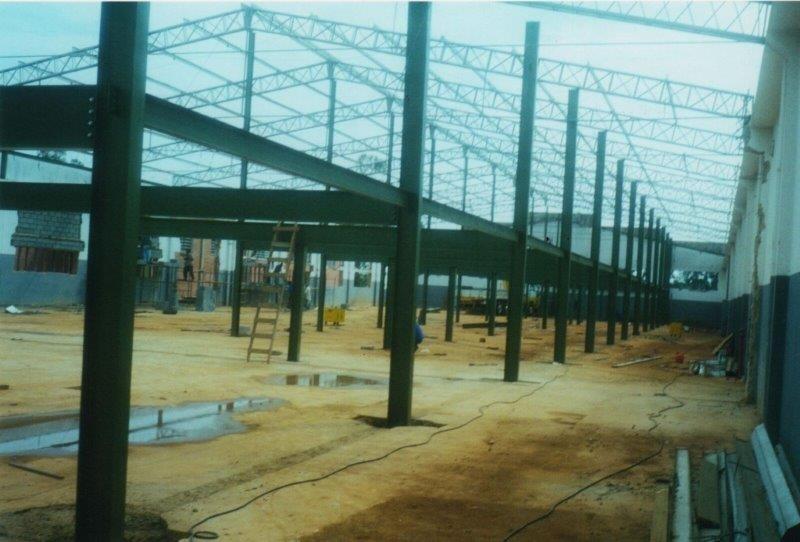 Prédio estrutura metálica