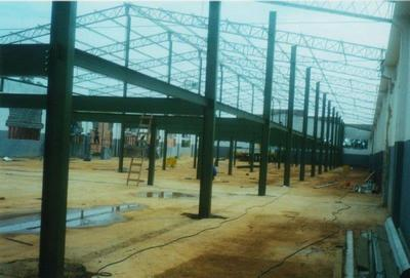 Superestrutura em aço