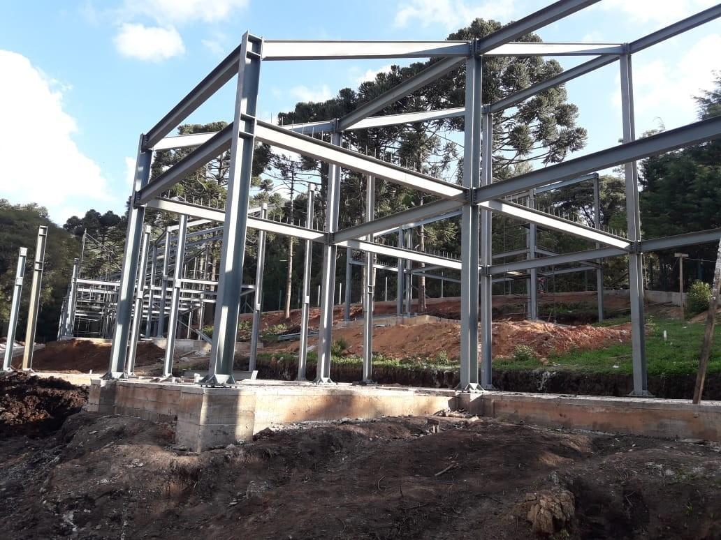 Venda de estrutura metalica