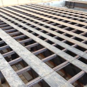 Estrutura de mezanino metálico