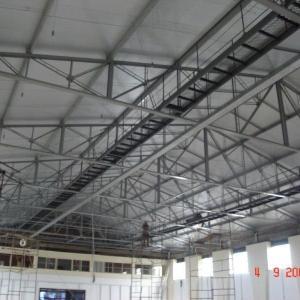 Fabricação de estruturas metálicas